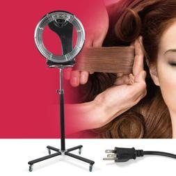 110v freestanding orbiting infrared hair dryer perm