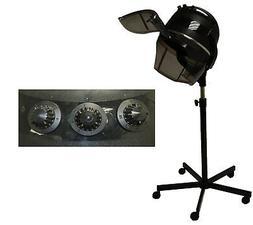 1200 Watt Professional Bonnet Hooded Hair Dryer on Wheels Be