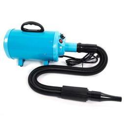 120V 2800W Portable Dog Cat Pet Groomming Blow Hair Dryer Qu