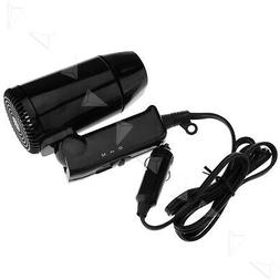 12V 220W Travel Car Portable Hair Dryer Windscreen Defroster