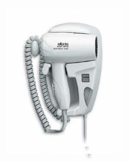 Andis 1600-Watt Quiet Wall Mounted Hangup Hair Dryer with 6-