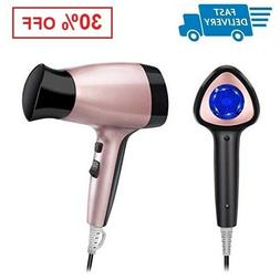 1600W Portable Travel Hair Dryer Lightweight with 2 Heat Set