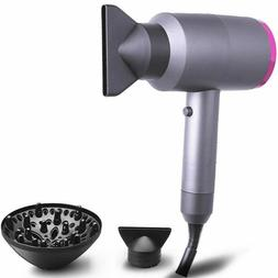 1800W Negative Ionic AC Motor 2-Speed Hot Cold Hair Blow Dry
