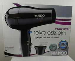 Conair 1875 Watt Mid-Size Styler Hair Blow Dryer 2 Speed Mod