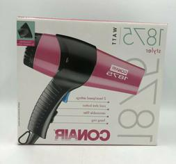 Conair 1875w Blow Dryer Styler 2 Speed / 2 Heat Settings Rem
