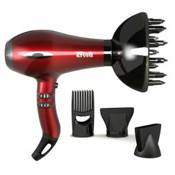 BERTA 1875W Ceramic Tourmaline Hair Dryer Healthy Negative I