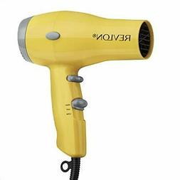 Revlon 1875W Compact & Lightweight IONIC Hair Dryer, Yellow