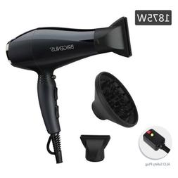 1875W Hair Dryer Professional Salon Ionic Hair Blow Dryer AC