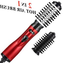 2 In 1 Hot Air <font><b>Brush</b></font> Electric rotation,