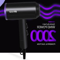 2000W Hair Dryer Anion Ceramic Ionic Fast Styling Blow Dryer