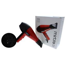 Elchim 2001 Classic Hair Dryer, Red/Black