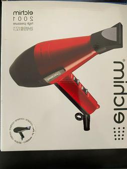 ELCHIM 2001 High Pressure Professional Hair Dryer - BLACK -