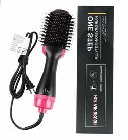 2In1 One Step Hair Dryer and Volumizer Brush Straightening C