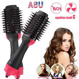 3 In1 One Step Hair Dryer&Volumizer Brush Styler Straighteni