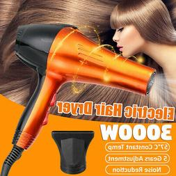 3000W Electric Hair Dryer Hot Cold Setting Household Hairs B