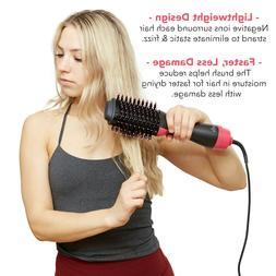 3In1 One Step Hair Dryer&Volumizer Brush Straightening Curle