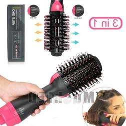 3In1 One Step Hair Dryer and Volumizer Brush Comb Straighten