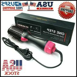 4 in 1 One Step Hair Dryer and Volumizer Brush Comb Straight