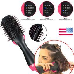 4 In 1 One Step Hair Dryer & Volumizer Brush Straightening C