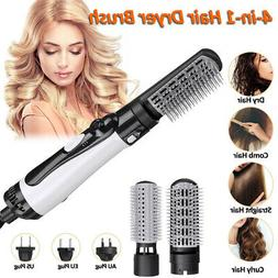 4 In1 Hair Blow Dryer & Volumizer Brush Hot Air Comb Straigh