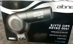 Andis 40250 Pro Style Soft Grip 1600 Watt Hair Dryer – Bla