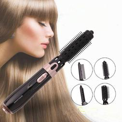 4 In 1 Negative Ion Blow Hair Comb Straight Curls Brush Hair