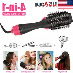 4 In 1 Hot Air Hair Dryer Brush One Step Volumizer Negative