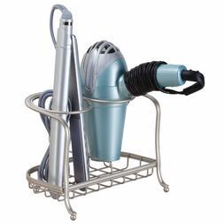 Interdesign 65345 York Lyra Hair Dryer& Flat Iron Holder