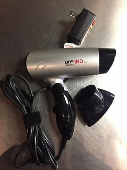 CHI Ceramic Flat Iron and Mini Pro Hair Dryer Travel Set W/H