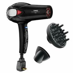 Conair 1875 Watt Cord Keeper Hair Dryer; Black - Amazon Excl
