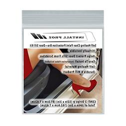 Self-Healing Clear Paint Protection Bra—Door Sill Kit