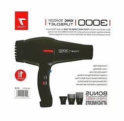 Tyche Professional Hair Dryer Turbo Jet 3000 Black