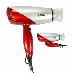 Amezing Berta 1875W Folding Hair Dryer Dual Voltage Blow  Ne