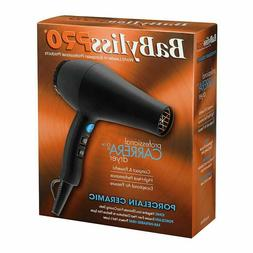 BABYLISS PRO PORCELAIN CERAMIC IONIC CARRERA2 BLOW DRYER HAI