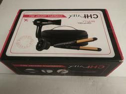 CHI AIR Beauty On-the-Go Compact Travel Set- Hair Dryer + Tr