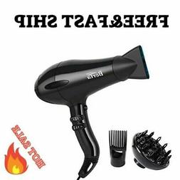 Blow Dryer 1875W Professional Infrared Ionic Hair Dryers wit