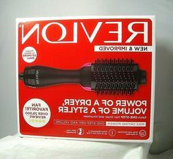 Revlon Blow Smooth Brush One-Step Salon Hair Dryer Styler Wi