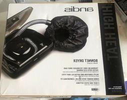 Andis Bonnet Hair Dryer with 40-Inch Flexible Hose, Black