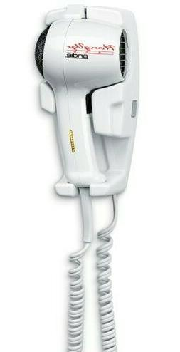 Andis 1600-Watt Wall Mounted Hangup Hair Dryer +Night Light