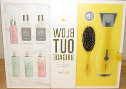 Drybar Buttercup Hair Blow Dryer 8 Pc Set Lemon Drop Brush P