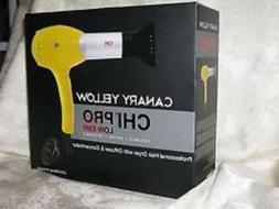 CHI 'Canary Yellow' Pro Hair Dryer w/ Diffuser & Concentrato