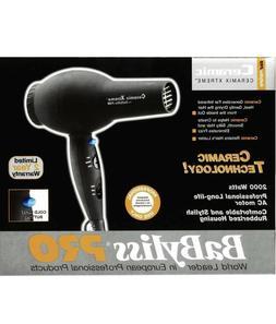 Babyliss Pro Ceramix Xtreme Hair Dryer Model BAB2000, Black
