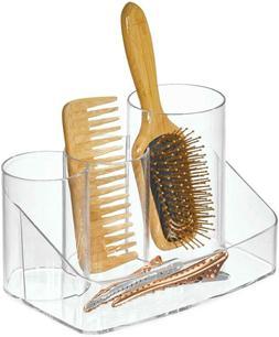 clarity plastic hair care organizer holder