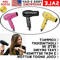 Revlon Compact Hair Dryer For Travel Professional Turbo Blow