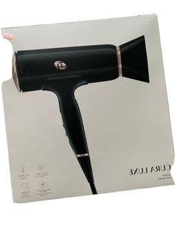 T3 Cura Luxe Professional Ionic Hair Dryer Black Rose Gold