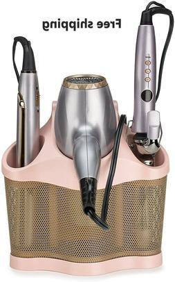 Curling Iron Blow Dryer Holder Hair Care Organizer Storage W