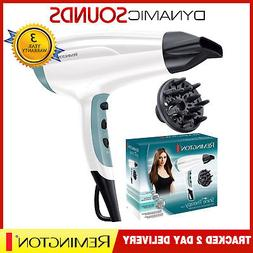 Remington D5216 Frizz Free Ionic Shine Therapy Hair Dryer wi