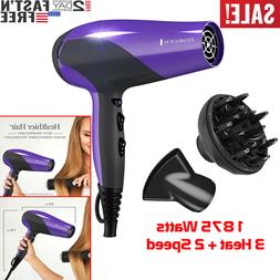 Damage Protection Hair Dryer with Ceramic Ionic Tourmaline T