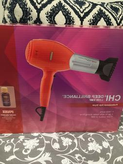 Chi  Deep Brilliance Orange Hair Dryer 1800 Watt