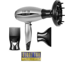 Hot Tools Diamond Platinum Professional Ionic Salon Nano Sil